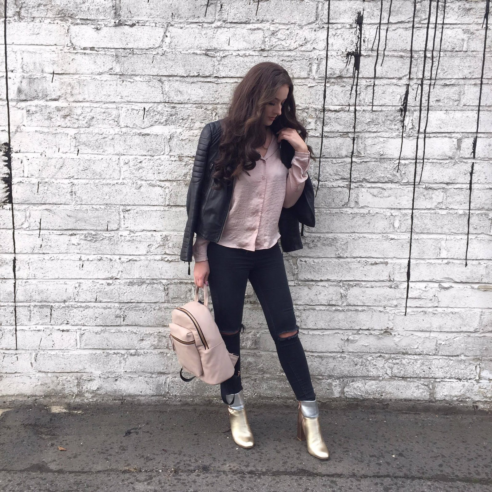 Rose Gold Metallic Obsession #RockChic