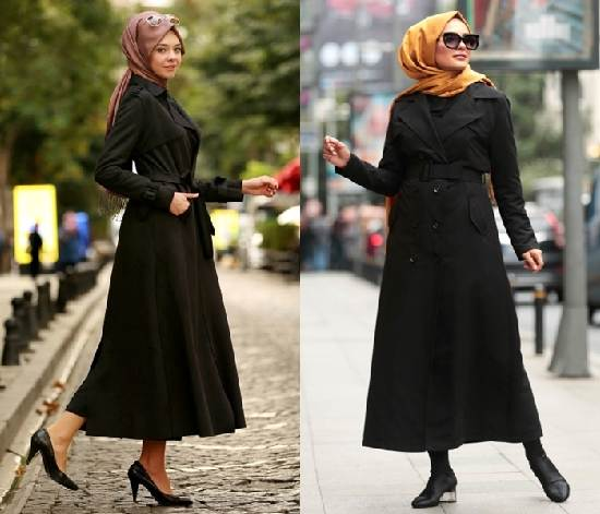 Kapalı Bayanlar İçin 2019 Trençkot Modelleri