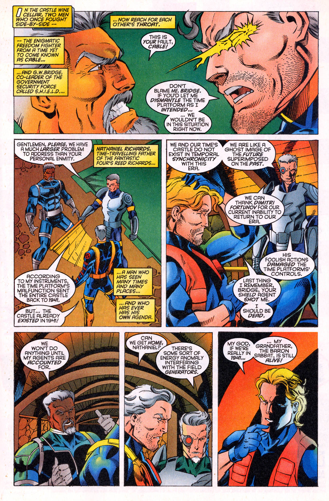 Read online X-Force (1991) comic -  Issue #64 - 9