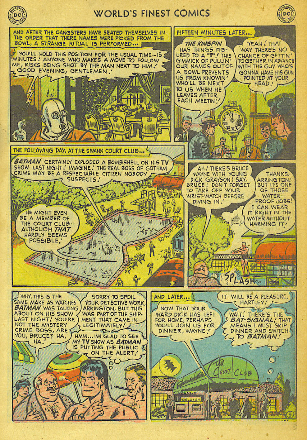 Read online World's Finest Comics comic -  Issue #57 - 57
