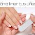 ¿Cómo limar las uñas correctamente?