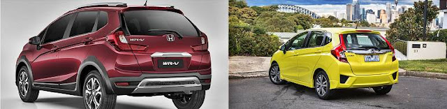 Honda WR-V: Jacked-up Jazz revealed for South America