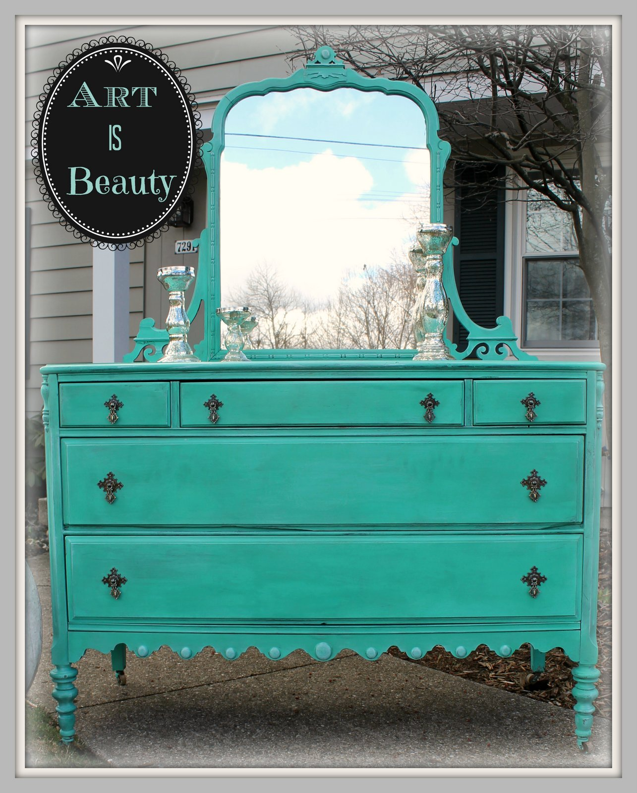 Art is beauty to beauty from beast custom sea glass - Beauty and the beast bedroom furniture ...