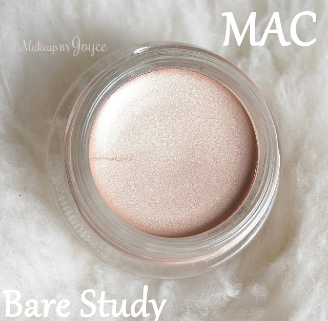 Mac Pro Longwear Paint Pot Bare Study Review Dupe