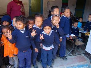 School Children Kathmandu Nepal