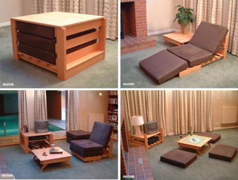 Desain Furniture Multifunction And Space Saving Furniture