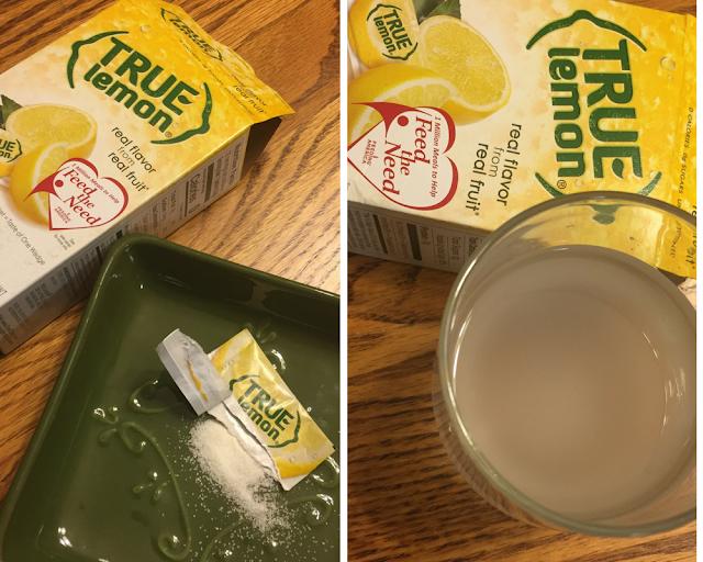 True Citrus Lemon lemon packets in Degustabox