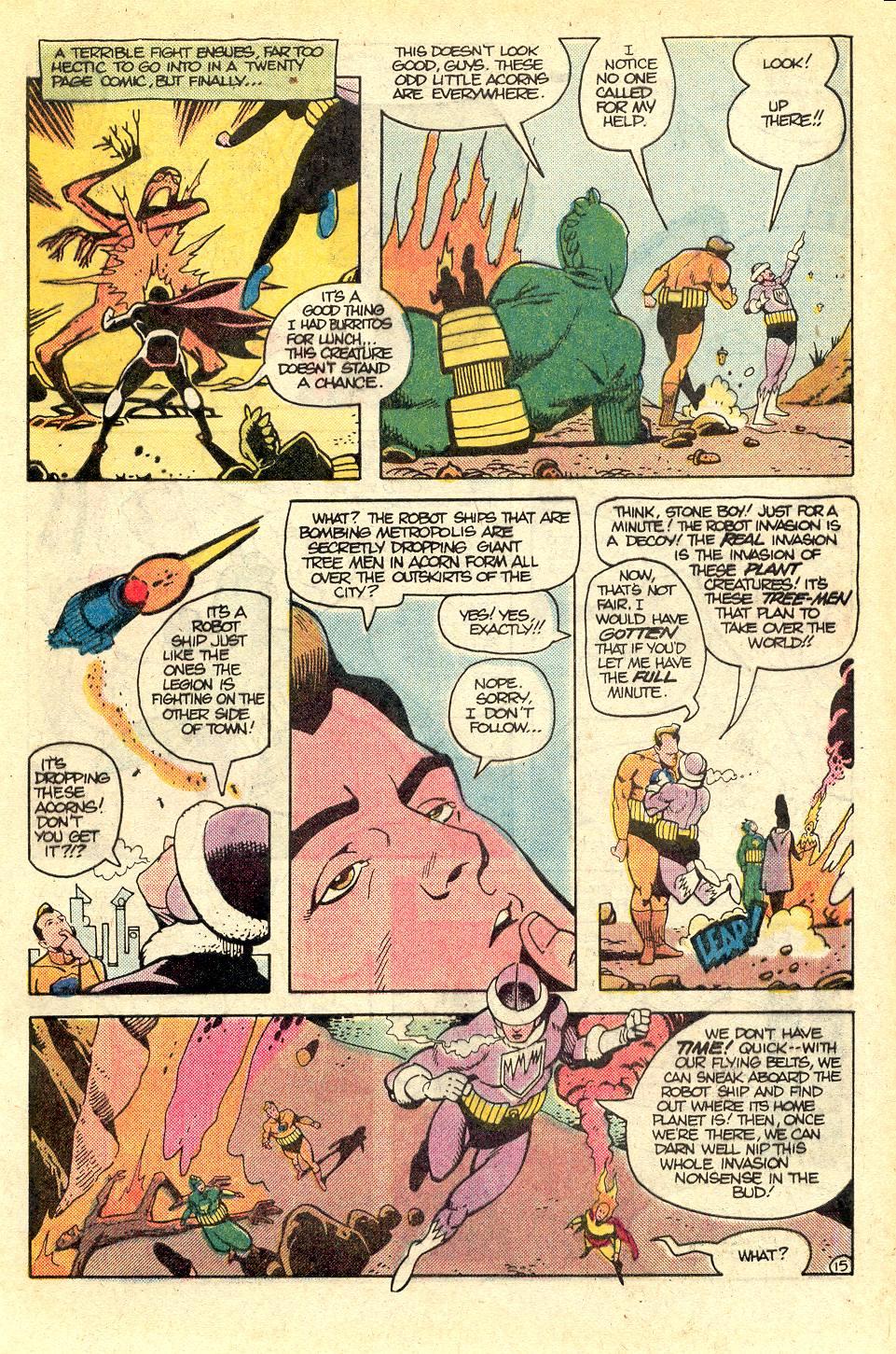 Read online Secret Origins (1986) comic -  Issue #37 - 17