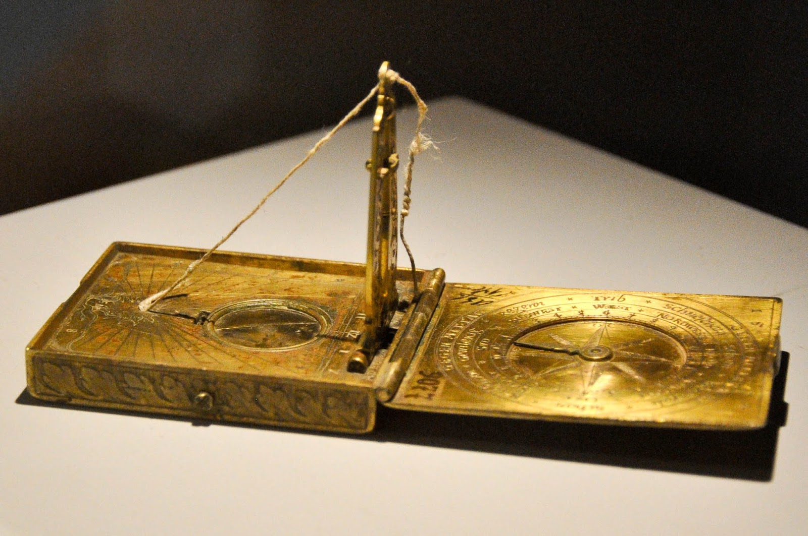 A medieval compass, Runkelstein Castle, Bolzano, South Tyrol, Italy