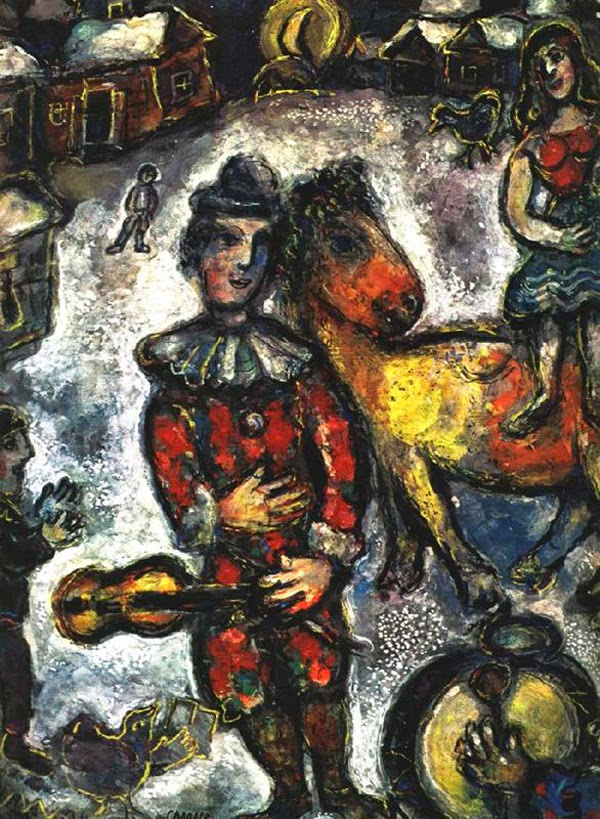 Circo na Vila - O Surrealismo glorioso de Marc Chagall