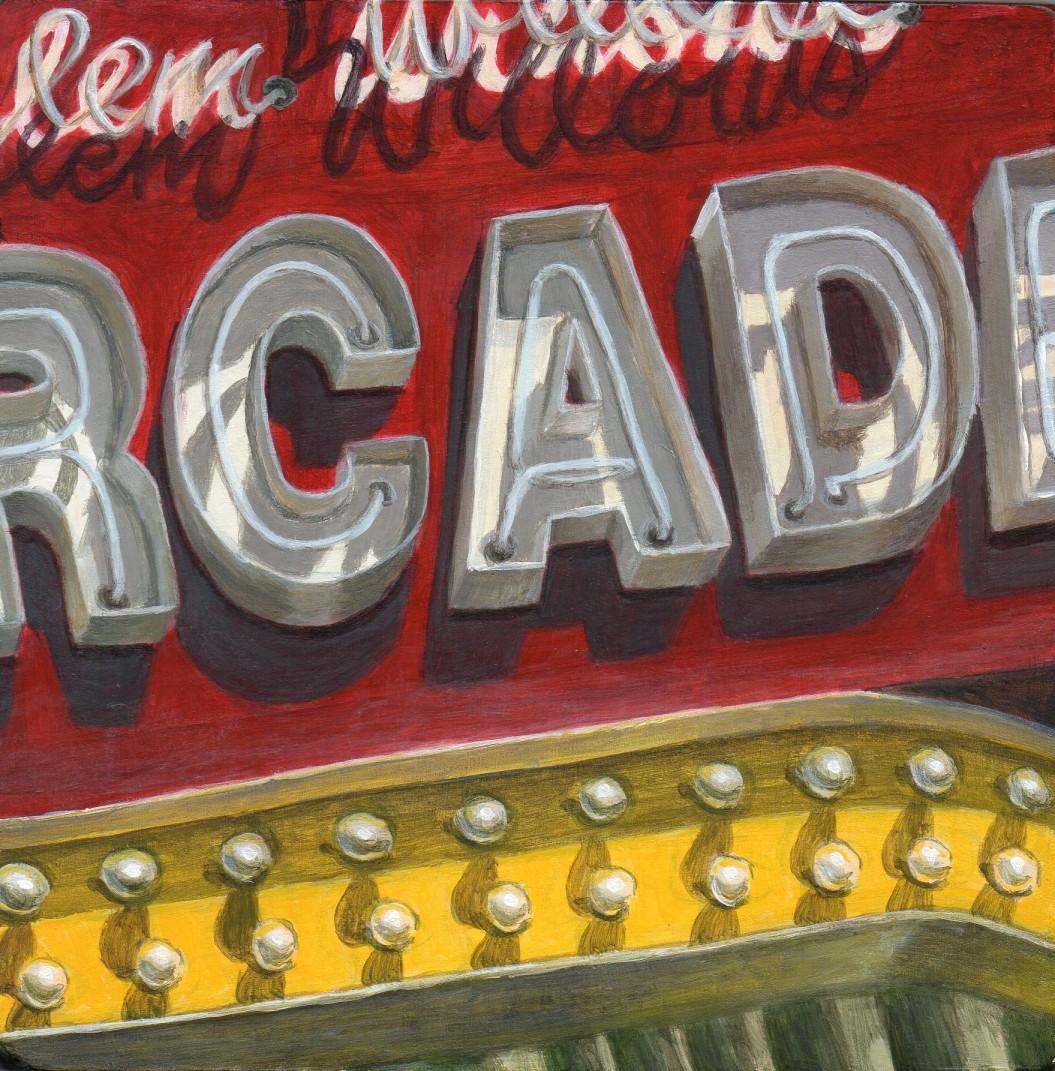 Arcade Painting Art