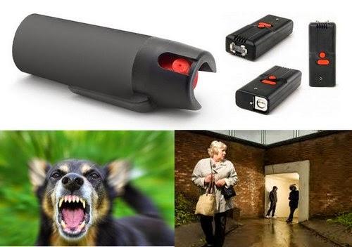 Защита от хулиганов и агрессивных собак. Средства самозащиты для женщин – зажигалка-электрошокер и перцовый газовый баллончик – для этого нужны небольшие средства для обеспечения личной безопасности