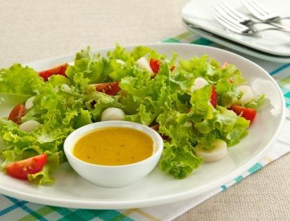 Salada De Pupunha com Tomate-cereja