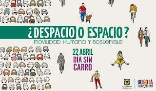 segundo día sin carro en Bogotá