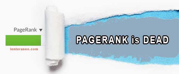 Google PageRank Resmi Tidak Update