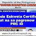 Brigada Eskwela Certificate, sapat na sa pagrenew ng PRC ID