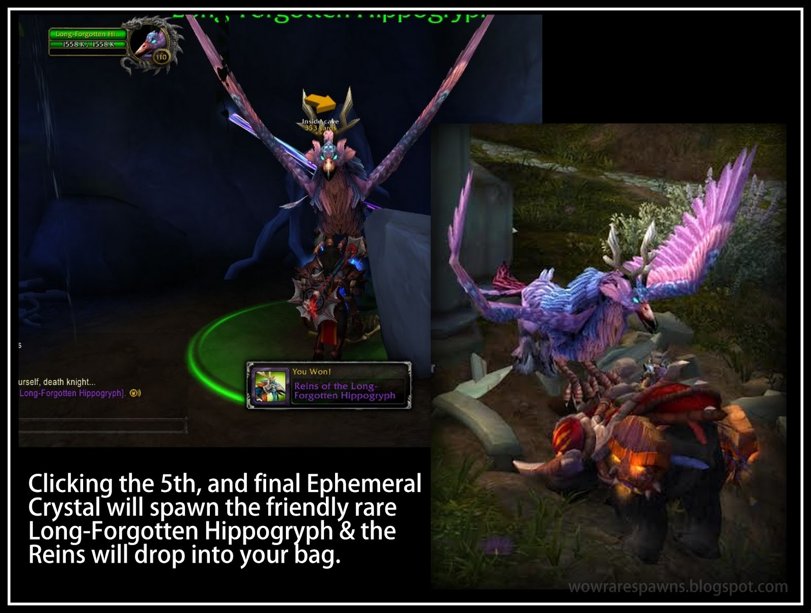 Wow Rare Spawns How To Get The Long Forgotten Hippogryph Mount
