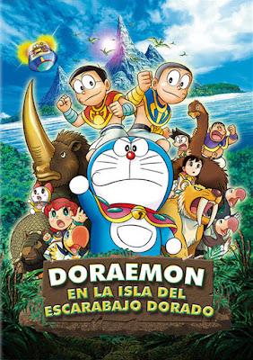 Doraemon En Busca Del Escarabajo Dorado 2012 DVDCustom HD Spanish