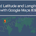 Find latitude and longitude with Google Maps IE9