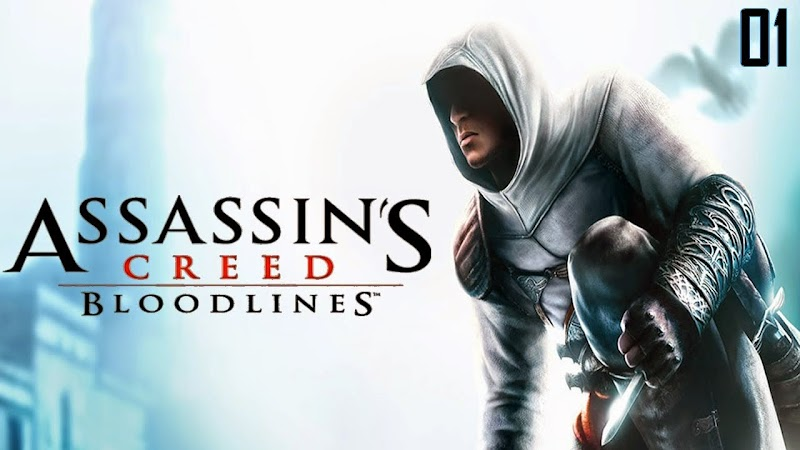 Assassins Creed Bloodlines Android PSP (ISO+CSO) Gaming Rom Free Download