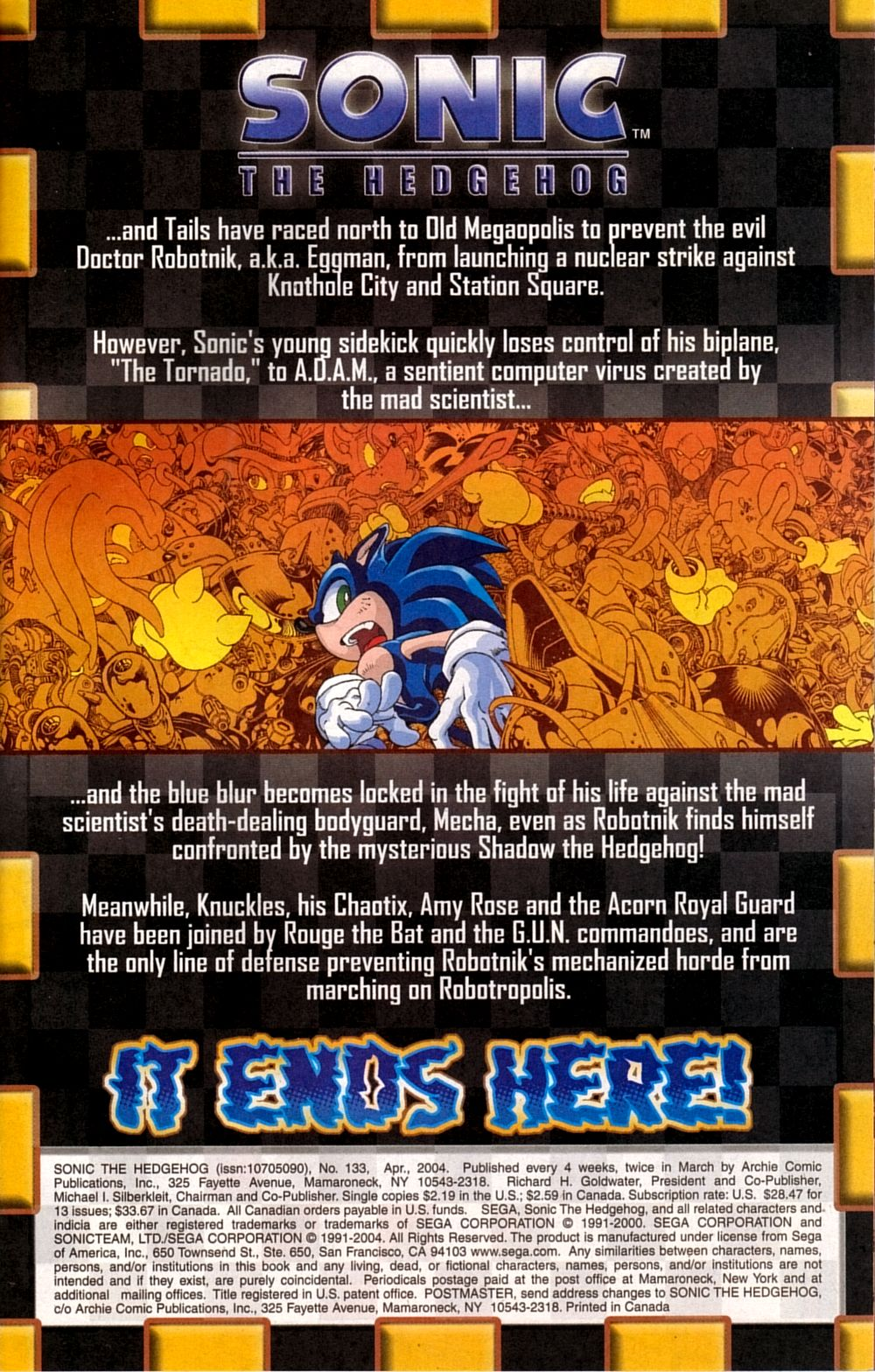 Read online Sonic The Hedgehog comic -  Issue #133 - 3