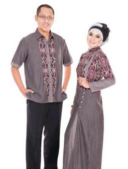 model baju batik couple terbaru 2017