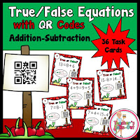 True False Equations using QR codes