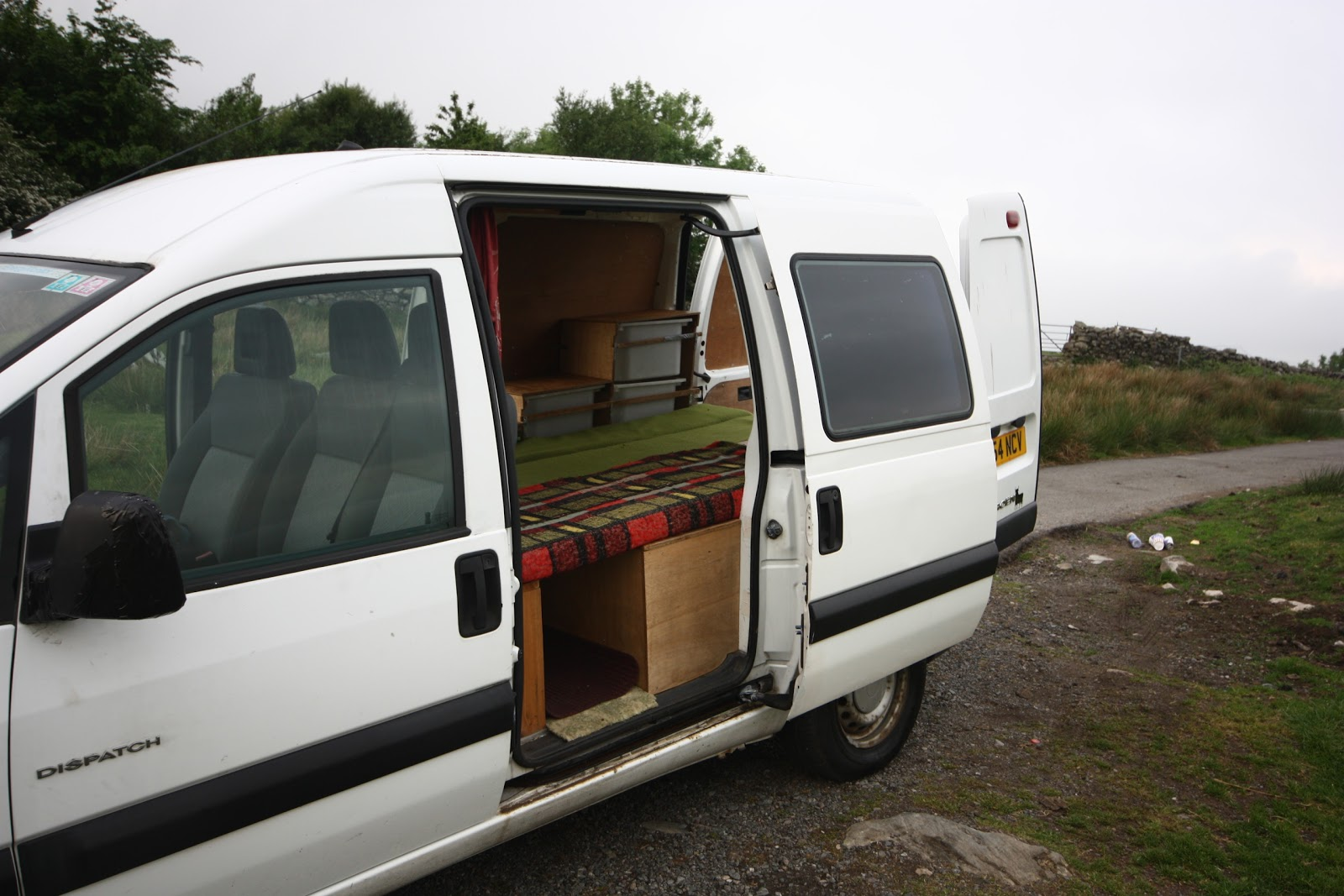 zero carbon adventures sold citroen dispatch campervan. Black Bedroom Furniture Sets. Home Design Ideas