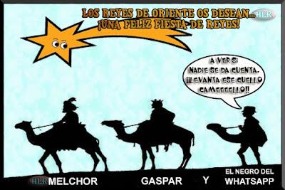 Los Reyes Magos de Oriente y el infiltrado