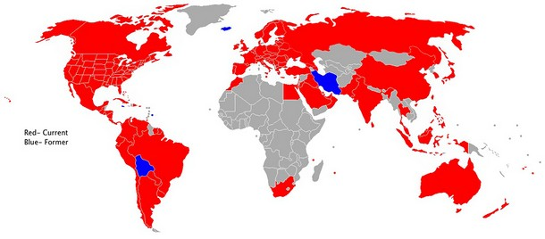Countries with McDonald's