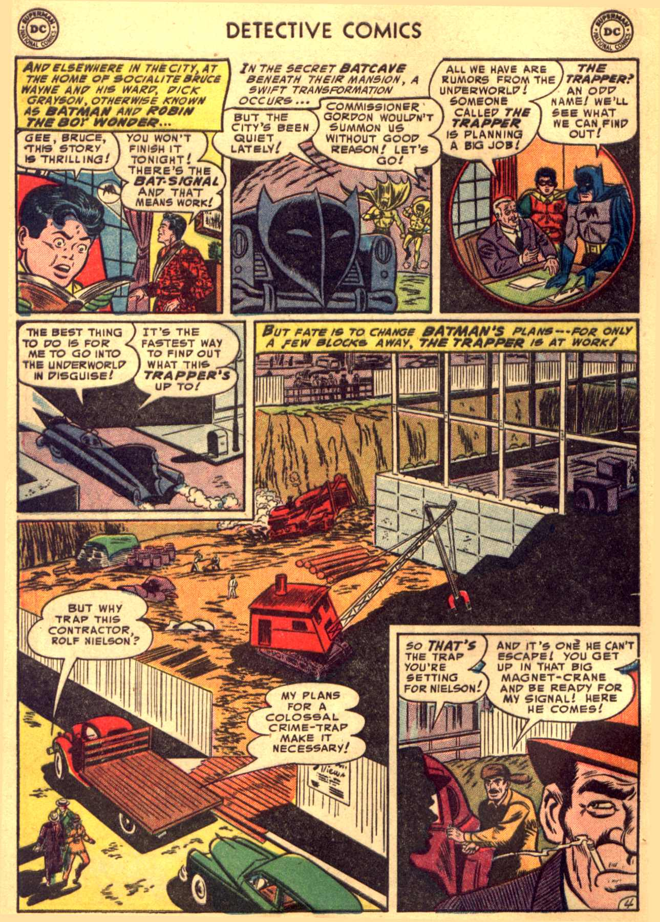 Read online Detective Comics (1937) comic -  Issue #206 - 4