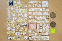 Größenvergleich: Blue Vessel 5 PCS Kreative Niedlichen Kaninchen Fett Papier Notebook Marker Label Notizblock Haftnotizen