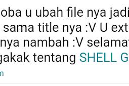 Menyisipkan Shell Backdoor Kedalam Gambar