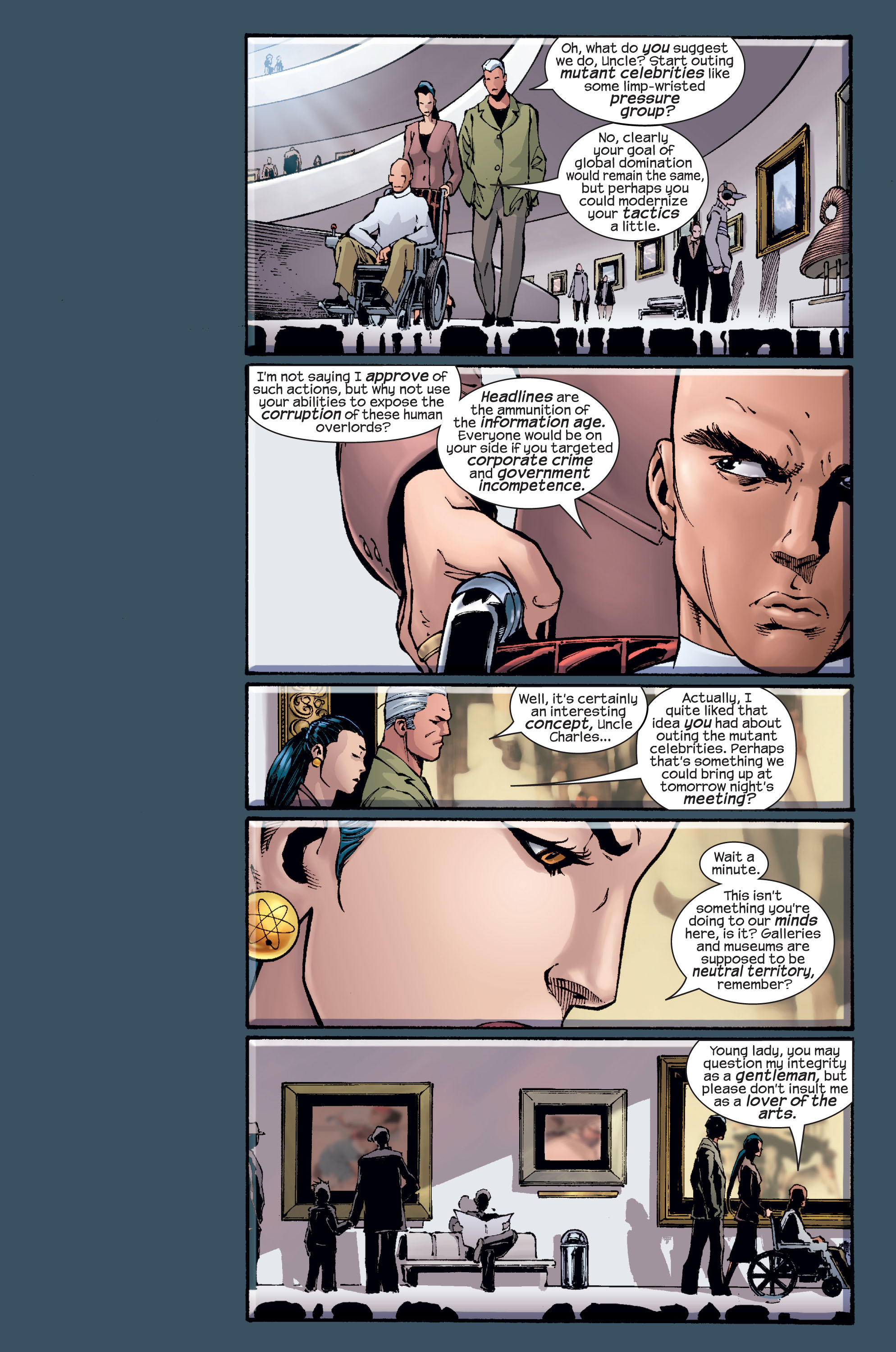 Read online Ultimate X-Men comic -  Issue #15 - 14