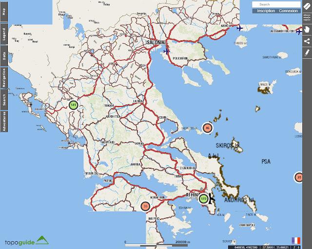 Toponavigator - Grèce