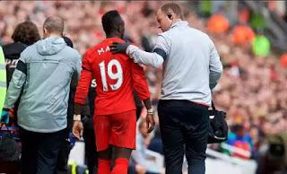 Jurgen klopp has revealed Saido Mane Could miss rest of season