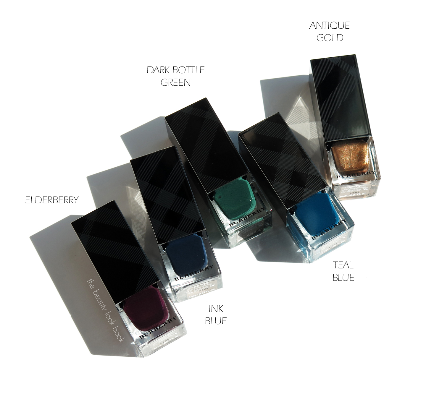 Burberry Beauty A/W 2014 Nail Polishes | Elderberry, Antique