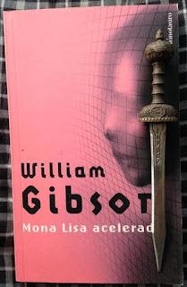 Portada del libro Mona Lisa acelerada, de William Gibson