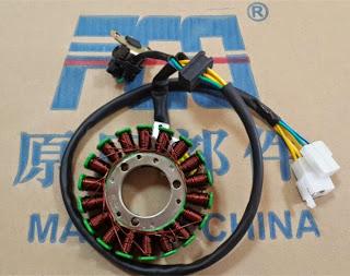 Yamaha YBR 125 Stator coils  - generator ( alternator )