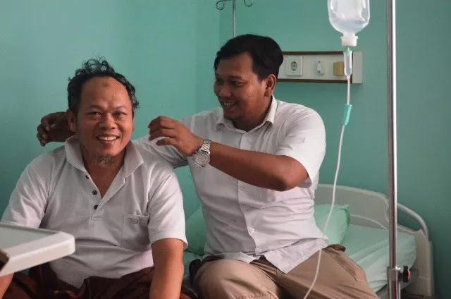 Dirawat di RS Brimob, Kondisi Ustadz Al Khaththath Sudah Membaik