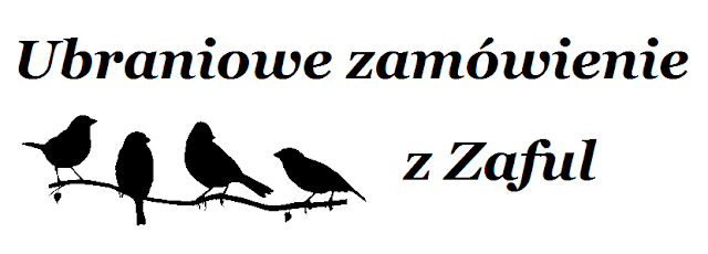 Ubraniowe zamówienie Zaful