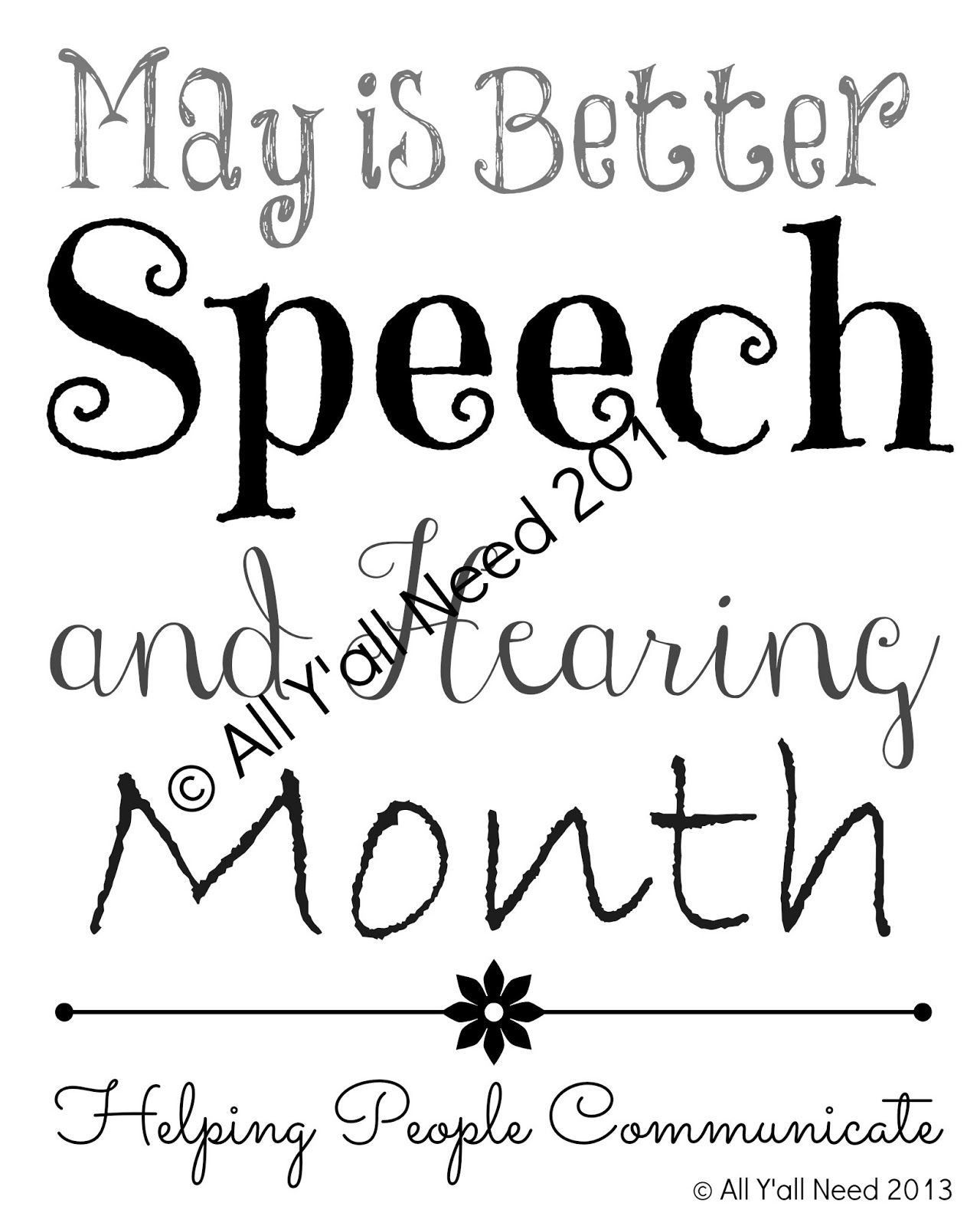 All Y'all Need on TpT: May is Better Speech and Hearing