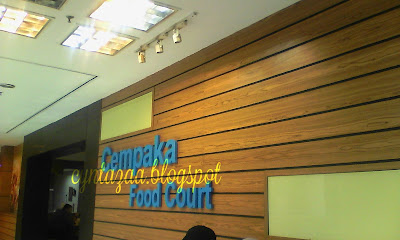 Makan Semurah RM3 Di Cempaka Foodcourt PKNS Bangi