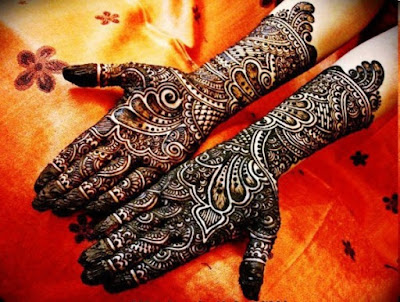 Bridal mehandi designs 2015