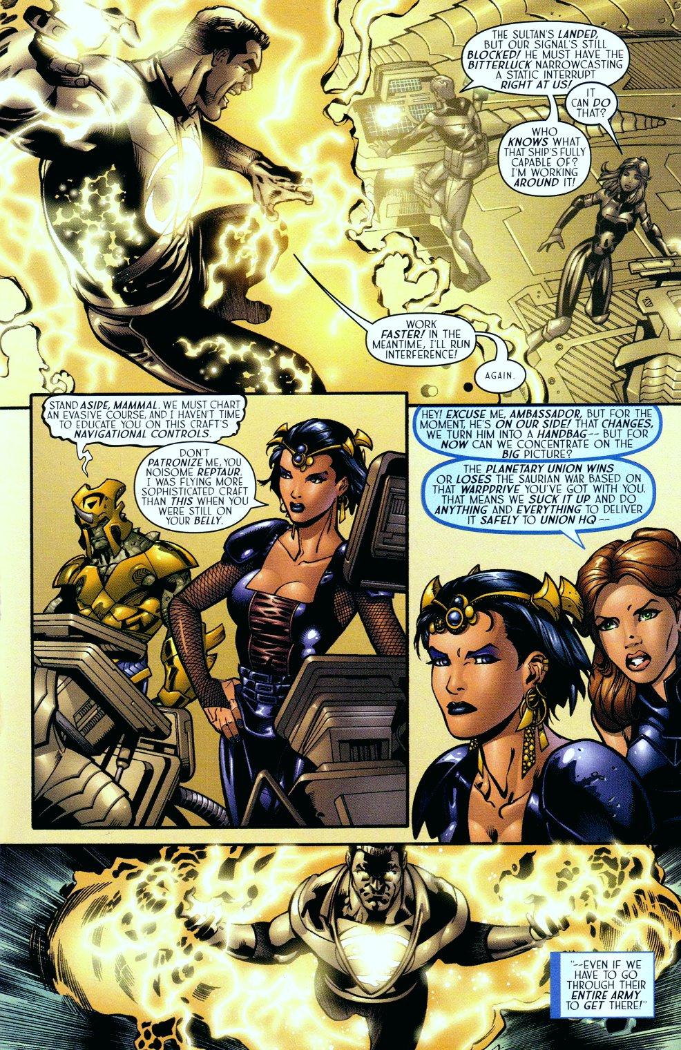 Read online Sigil (2000) comic -  Issue #14 - 8