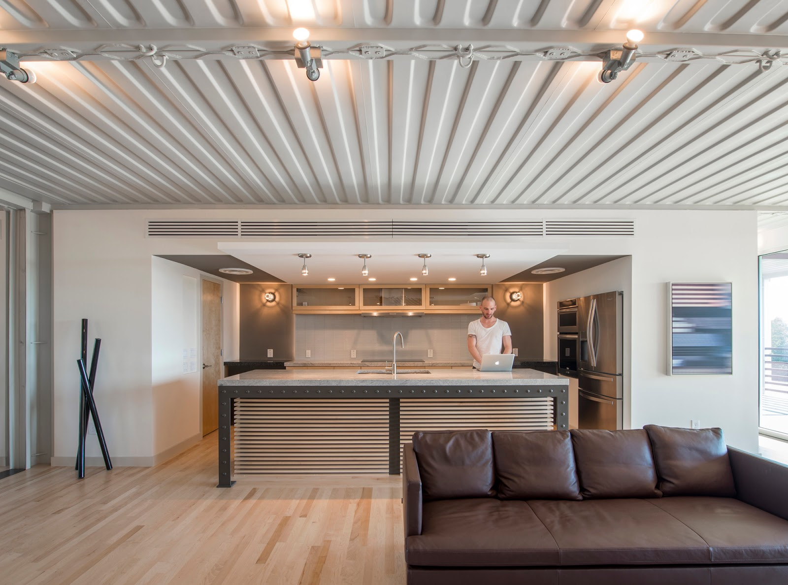 Tiny Home Designs: Shipping Container Homes: PV14