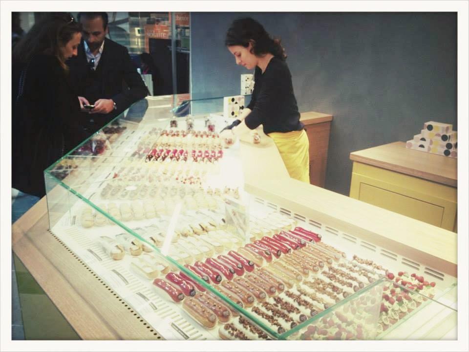 L'Eclair de génie, in negozio del Marais @Christophe Adam