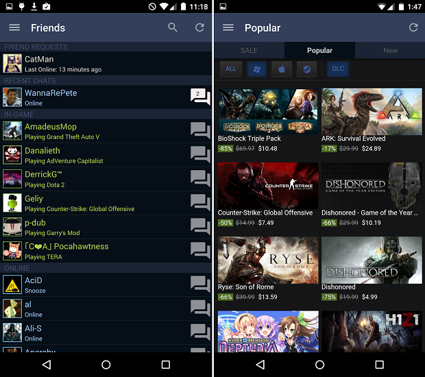 Steam Android Apps Apk