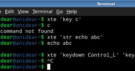 AniDear: How to Sending Keystrokes Using Ruby
