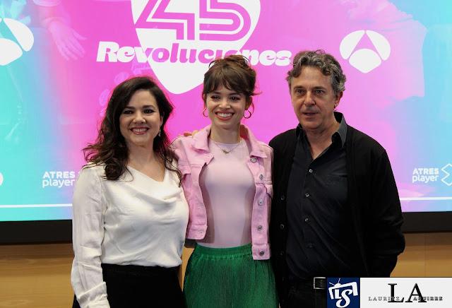 Carmen Gutiérrez, Guiomar Puertas y Pere Ponce